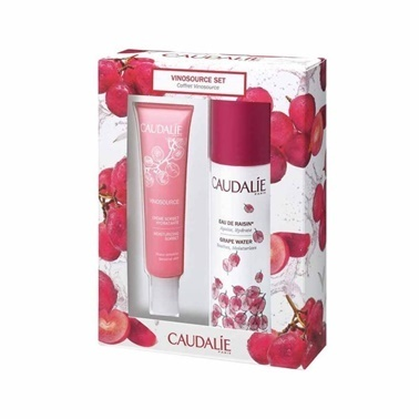Caudalie CAUDALIE Vinosource Moisturizing Sorbet 40 ml ALANA Grape Water 75 ml - Üzüm Suyu HEDİYE Renksiz